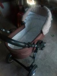 Wózek dziecięcy i  bujaczek