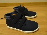 Granatowe buty HM na rzepy