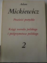 Książka Adam Mickiewicz Powieści Poetyckie