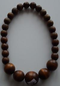 Korale Kuleczki Brązowe