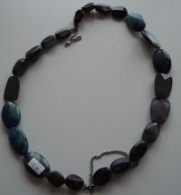 Korale Kamyczki Niebieskie