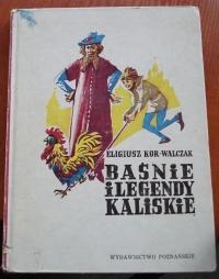 Książka Baśnie i Legendy Kaliskie