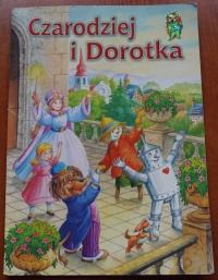 Książka Czarodziej i Dorotka