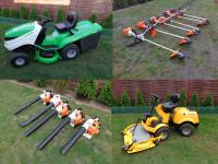 Używany Sprzęt ogrodniczy-Traktorki kosiarki