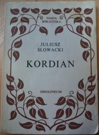 Książka Kordian - Juliusz Słowacki