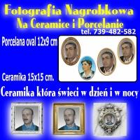 Fotografia Nagrobkowa Na Ceramice i Porcelanie