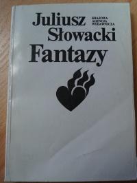 Książka Fantazy - Juliusz Słowacki