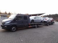 Transport samochodów osobowych i dostawczych,mszyn itp.