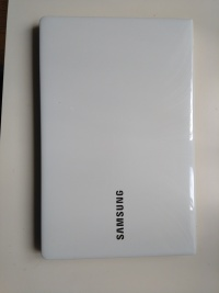 notebook SAMSUNG biały