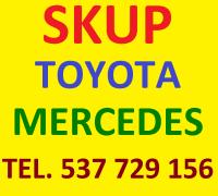 Skup aut Toyota i Mercedes