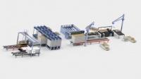 Linia do produkcji paneli SIP ciąg produkcyjny