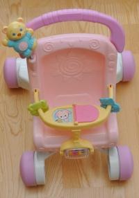 Wózek dla lalki FISHER PRICE