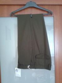 Sprzedam niedrogo nowe spodnie męskie z gabardyny
