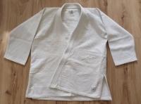 NOWY Strój do aikido/jujitsu/judo DOMYOS (180cm) + biały pas