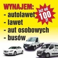 Wynajem Autolaweta Konin Opel - Movano 2,3-170km