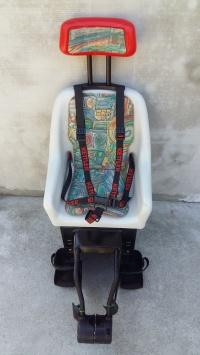 Fotelik rowerowy na rower firmy Kettler