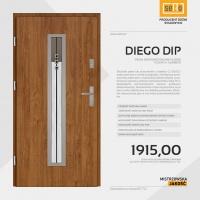 DIEGO DIP drzwi zewnętrzne stalowe SETTO