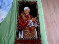 Kilim, Dywanik na ścianę. Jan Paweł II