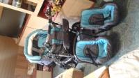Wózek bliźniaczy 3w 1 DUO