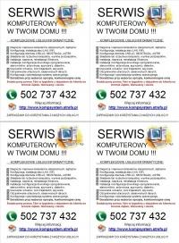 Serwis Komputerowy, naprawa laptopów Ząbki, Warszawa