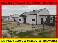 NOWE DOMY w RUDZICY – ul. Świerkowa, działka 1000m