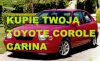 Kupie pilnie Toyote Avensis I lub II COROLLE Yaris Carine