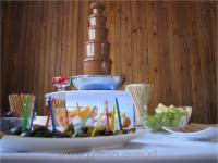 Fontanny czekoladowe i alkoholowe - Criollo