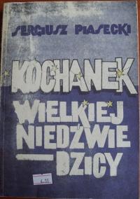 Książka Kochanek Wielkiej Niedźwiedzicy - Sergiusz Piasecki
