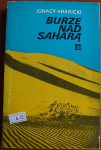 Książka Burze Nad Saharą - Ignacy Krasicki
