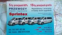 Transport Osób Niemcy-Holandia-Belgia Codziennie!