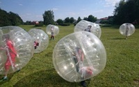 bubble socce ball kule