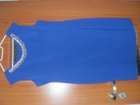 Sukienka w kolorze kobaltowym(rozm.46-48)