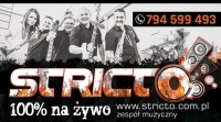 Zespół muzyczny STRICTO - 100 % na ŻYWO !!!