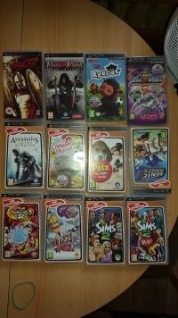 Sprzedam 12 gier na PSP 150 zł do negocjacji