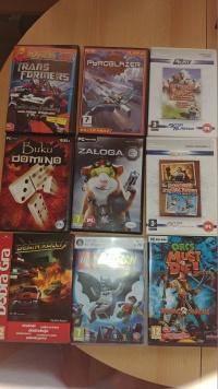 Sprzedam 12 gier na komputer dla młodszych 130 pln