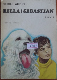 Książki Bella i Sebastian Tom I i II - Cecile Aubry