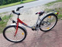 Rower damka - koła 24