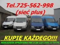 kupię mercedesa Sprintera 208 210 212 213 216 308 310 311 31