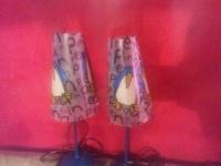 DWIE LAMPY DO POKOJU DZIECIĘCEGO PINGWIN