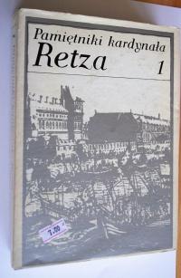 Książki  Pamiętniki kardynała Retza 1