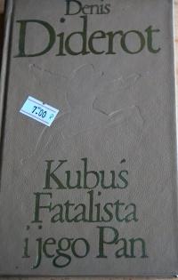 Książka Kubuś Fatalista i jego Pan