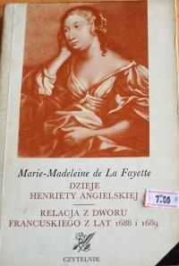 Książka Dzieje Henriety Angielskiej
