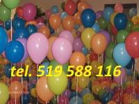 Brama z balonów girlanda z balonów łuk hel balony led ledowe