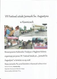 Festiwal sztuki Jarmark Św Augustyna