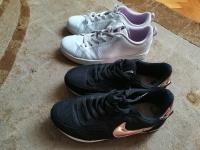 Buty Adidas i Nike r. 35-36 dziewczynka