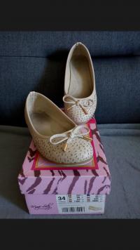 Baleriny buty półbuty