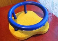 Fotelik do mycia dziecka.