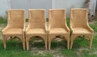 fotele krzesła wiklina bambus-meble holenderskie Mielnica