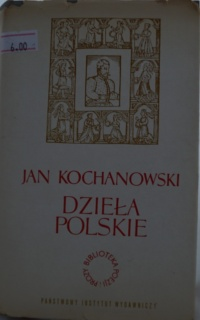 Książka Dzieła Polskie - Jan Kochanowski