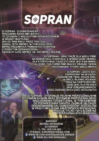 Dj Sopran z RMF MAXXX na twojej imprezie!